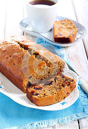Free Date And Coffee Cake Stock Photography - 49612522