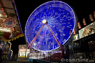 Date Festival Ferris Wheel Editorial Stock Image