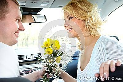 Dates in car
