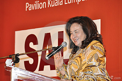 Datin Paduka Seri Rosmah Mansor Editorial Image