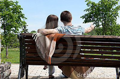 Dating on bench