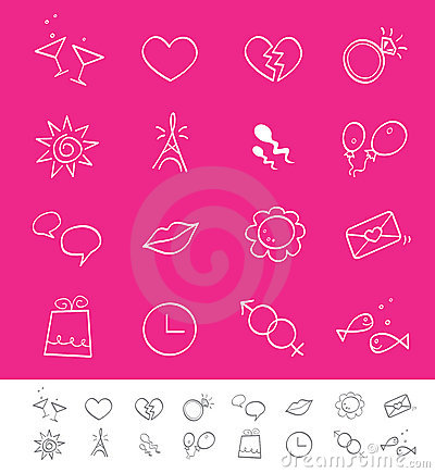 Dating, love & social icons