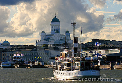 Daughter of the Baltic Sea, Helsinki, Finland Editorial Stock Photo