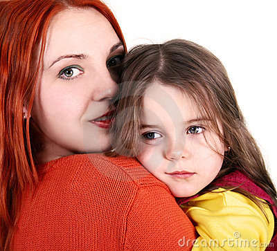 daughter with mother