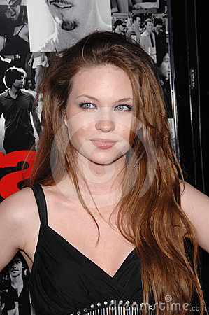 Daveigh Chase Editorial Stock Photo