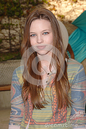 Daveigh Chase Editorial Stock Image