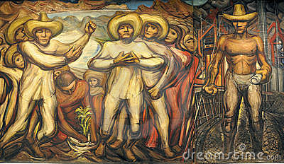 David Alfaro Siqueiros Editorial Photo