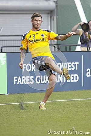 David Beckham Editorial Image