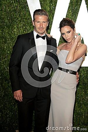 Free David Beckham, Victoria Beckham, Vanity Fair Royalty Free Stock Photo - 23751985