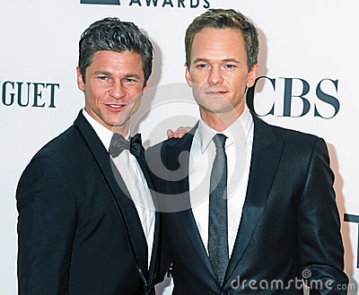 David Burtha and Neil Patrick Harris Editorial Photo