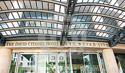 The David Citadel Hotel Editorial Image