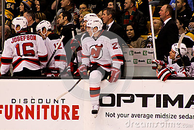 David Clarkson New Jersey Devils Editorial Stock Photo