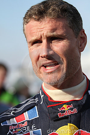 David Coulthard Editorial Stock Image