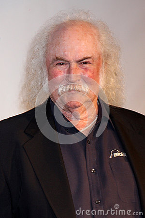 David Crosby Editorial Stock Image