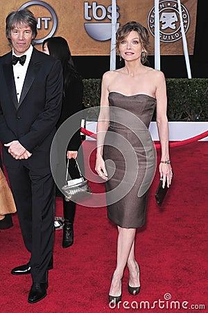 David E. Kelley, Michelle Pfeiffer Editorial Stock Image
