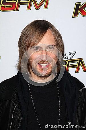 David Guetta Editorial Image