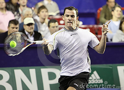 David GUEZ (FRA) at BNP Masters 2009 Editorial Photo