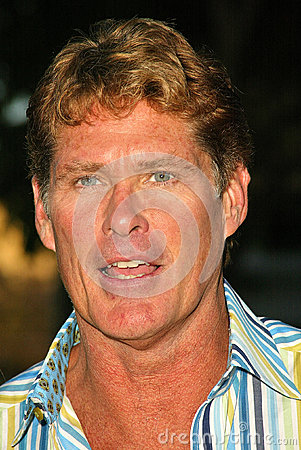 David Hasselhoff Editorial Stock Image
