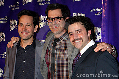 David Krumholtz, Paul Rudd, Ty Burrell Editorial Image