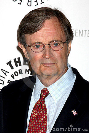 David McCallum arriving at the NCIS PaleyFest Event Editorial Stock Photo