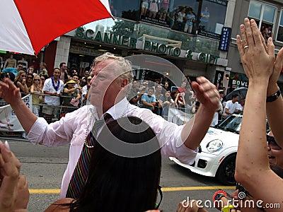 David Miller at Pride 2011