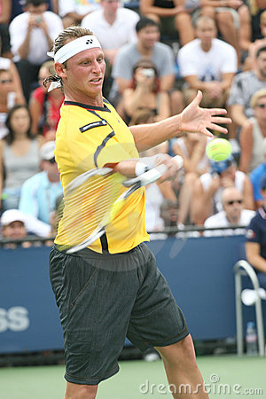 David Nalbandian - Tennis Player from Argentine Editorial Stock Photo