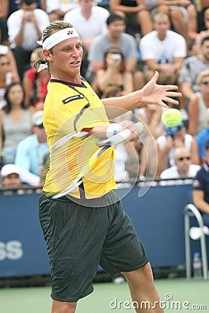 David Nalbandian - Tennis Player from Argentine Editorial Stock Photo