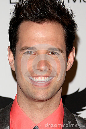 David Osmond arrives at the 19th Annual Race to Erase MS gala Editorial Stock Image