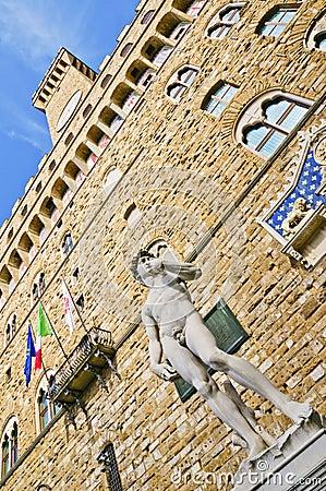 David and Palazzo Vecchio (Florence)