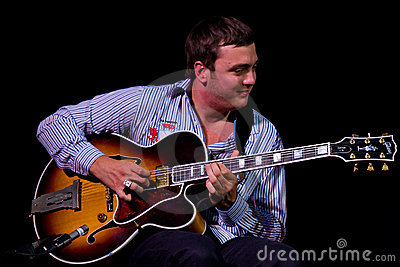 David Reinhardt at Umbria Jazz Editorial Image