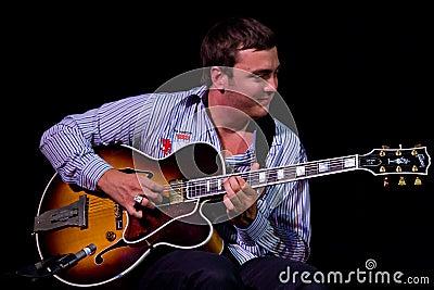 David Reinhardt at Umbria Jazz Editorial Image