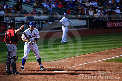 David Wright Pitch Out Editorial Stock Image