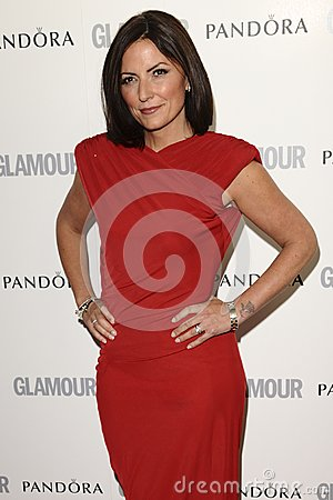 Davina McCall Editorial Stock Photo