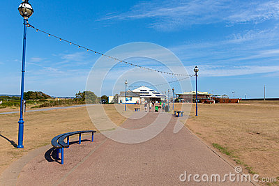 Dawlish Warren Devon England Editorial Photo