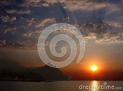 Dawn on Karadag.