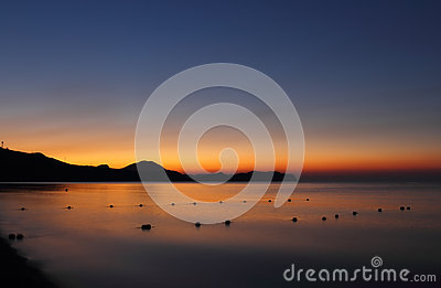 Dawn in Koktebel