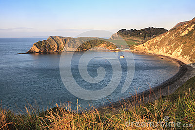 Dawn at Lulworth Cove