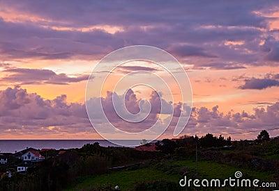 Dawn over Atlantic