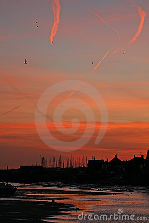 Dawn over Wells-next-the-Sea