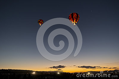 Dawn Patrol at the Great Reno Balloon Race