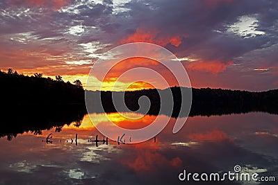 Dawn Pete s Lake