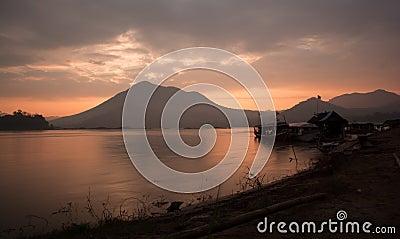 Dawn at shore