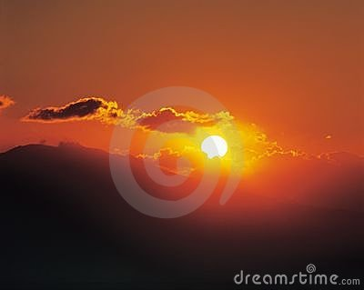 Dawn, słońce