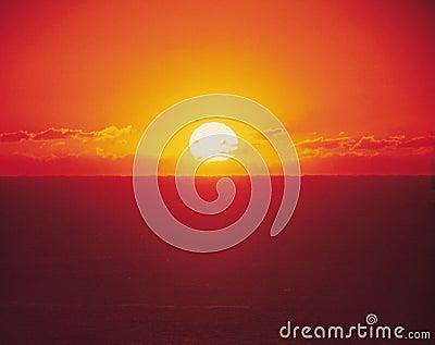 Dawn with Sun