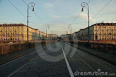 Dawn in Turin