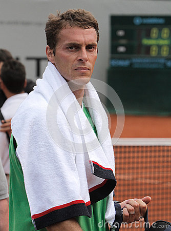 Day 2, Tennis Power Horse World Team Cup 2012 Editorial Stock Image