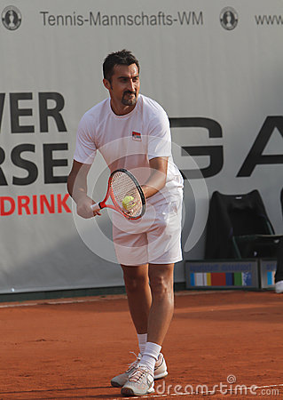 Day 2, Tennis Power Horse World Team Cup 2012 Editorial Stock Photo