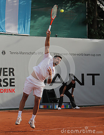 Day 2, Tennis Power Horse World Team Cup 2012 Editorial Image