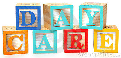 Day Care in Alphabet Blocks