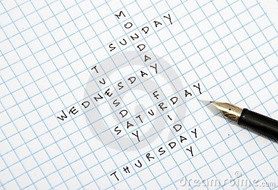 Day crossword